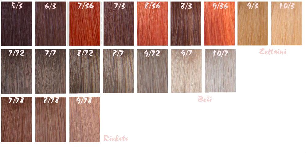 Краска для волос лисап эскалейшен палитра