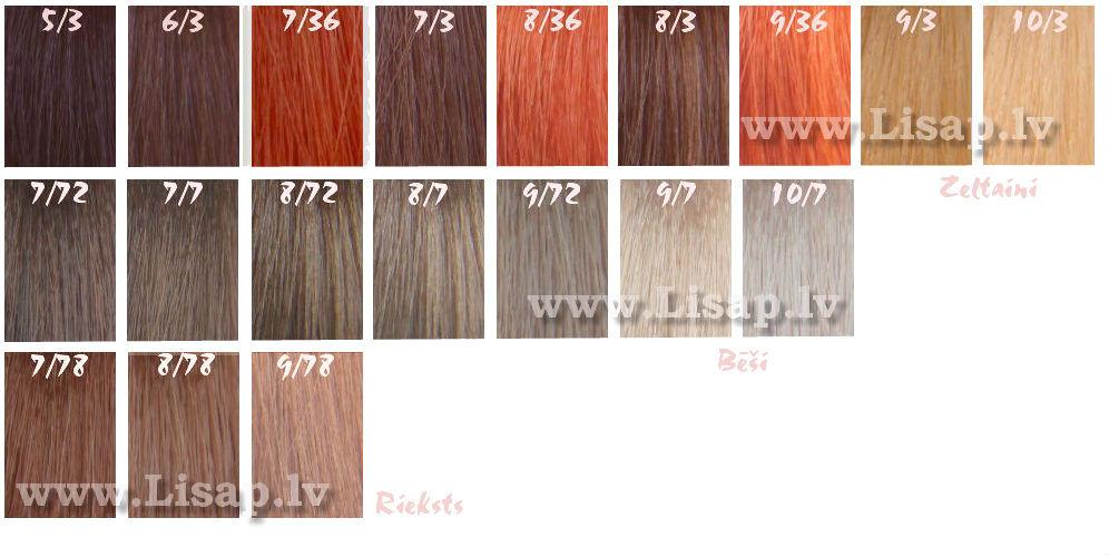 Lk-краска для волос
