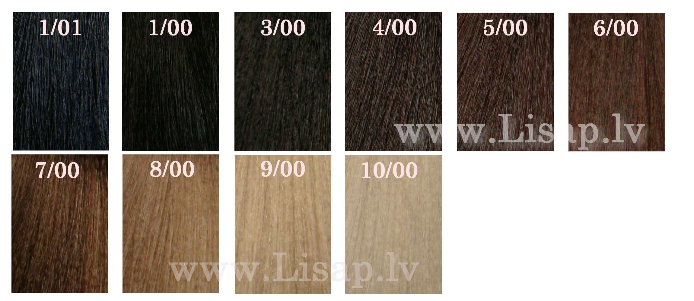 Краска для волос лисап палитра